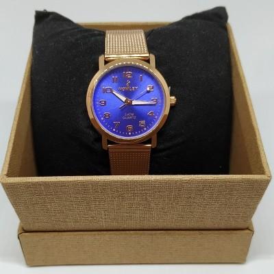 Reloj de malla Rosacea Blue