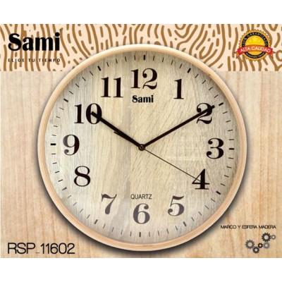 Reloj Pared Sami RSP-11602...