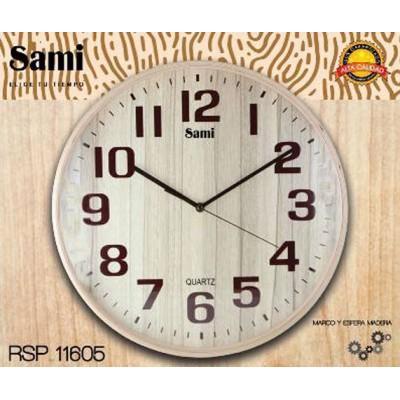 Reloj Pared Sami RSP-11605...