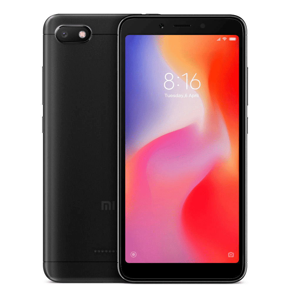 Bazar Canarias - Teléfono Móvil Xiaomi Redmi6A 2GB/32GB Negro
