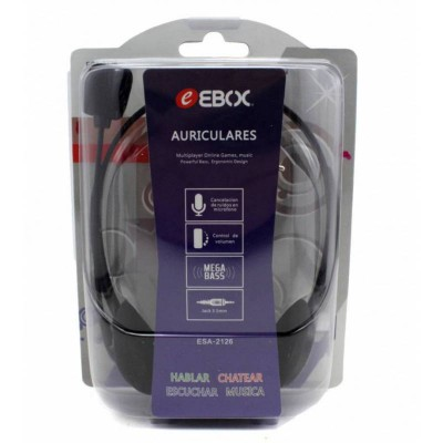 Auriculares Ebox TV  5mtrs...